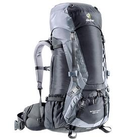 Рюкзак туристический Deuter Aircontact 45+10 л black-titan