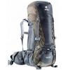 Рюкзак туристический Deuter Aircontact 40+10 л black-stone - фото 1