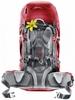 Рюкзак туристический Deuter Futura Vario 45+10 SL cranberry-fire - фото 2