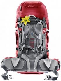 Фото 2 к товару Рюкзак туристический Deuter Futura Vario 45+10 SL cranberry-fire