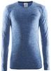 Распродажа*! Термофутболка мужская с длинным рукавом Craft Active Comfort RN sweden blue - S - фото 1
