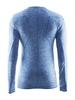 Распродажа*! Термофутболка мужская с длинным рукавом Craft Active Comfort RN sweden blue - S - фото 2