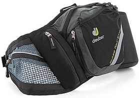 Фото 3 к товару Сумка Deuter Pulse Four EXP 2+1 л anthracite-black