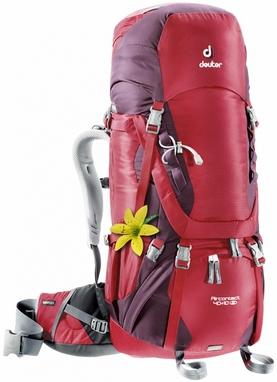 Рюкзак туристический Deuter Aircontact 40+10 л cranberry-aubergine