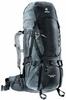 Рюкзак туристический Deuter Aircontact 55+10 л black-titan - фото 1