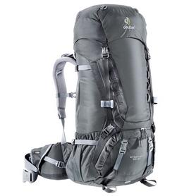 Рюкзак туристический Deuter Aircontact 55+10 л granite-black