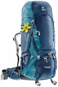 Рюкзак туристический Deuter Aircontact 70+10 л midnight-denim