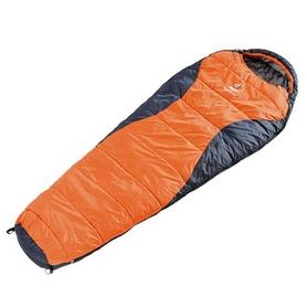 Мешок спальный (спальник) Deuter Dream Lite 400 sun orange-midnight левый