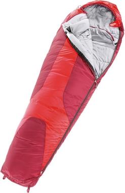 Мешок спальный (спальник) Deuter Orbit правый fire-cranberry