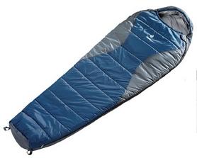 Мешок спальный (спальник) Deuter Travel Lite 300 L левый синий с серым