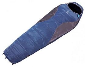 Мешок спальный (спальник) Deuter Sphere 700 L левый синий с серым