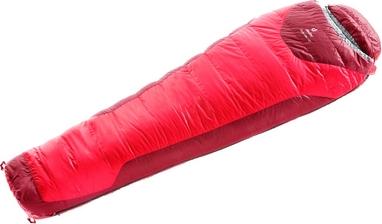 Мешок спальный (спальник) Deuter Neosphere L левый fire-cranberry