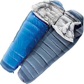 Фото 2 к товару Мешок спальный (спальник) Deuter Neosphere L левый cobalt-steel