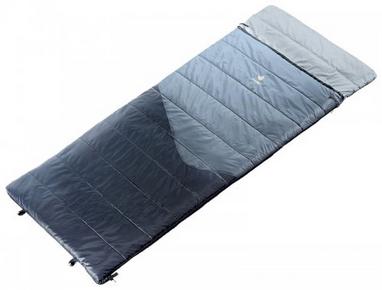 Мешок спальный (спальник) Deuter Space II левый titan-black
