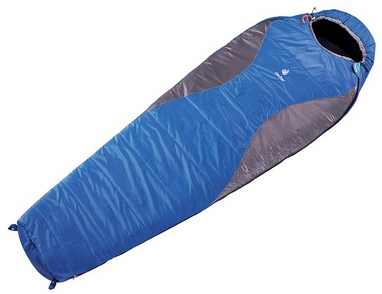 Мешок спальный (спальник) Deuter Sphere 450 L правый синий с серым