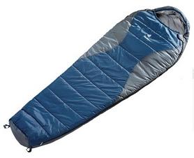 Мешок спальный (спальник) Deuter Travel Lite 300 L правый синий с серым