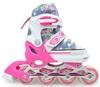 Коньки роликовые раздвижные Maraton 9003 розовые - фото 1