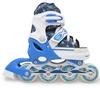 Коньки роликовые раздвижные Maraton 9003 синие - фото 1