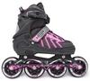 Коньки раздвижные роликовые Maraton Cool Slide M-6005 розовые - фото 1