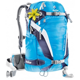 Рюкзак спортивный Deuter Freerider 24 SL turquoise-blueberry