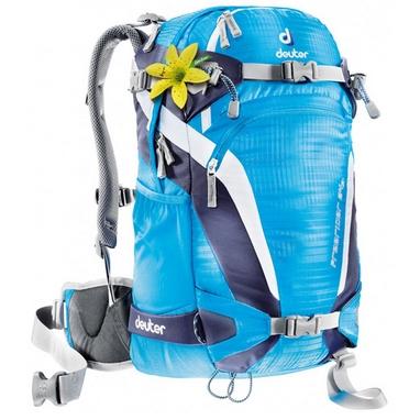 Рюкзак спортивный Deuter Freerider 24 SL turquoise-blueberry