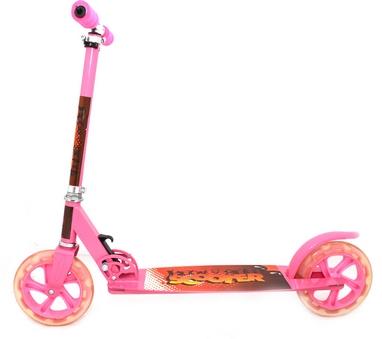Самокат двухколесный Maraton Scooter 49 Big розовый