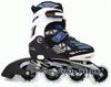 Коньки роликовые раздвижные Maraton Cool Slide M-1308 синие - фото 1