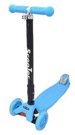 Самокат трехколесный Maraton Scooter 99 голубой