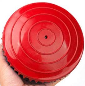 Фото 2 к товару Полусфера массажная Pro Supra Balance Kit красная