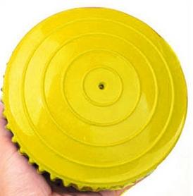 Фото 2 к товару Полусфера массажная Pro Supra Balance Kit желтая