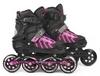 Коньки раздвижные роликовые Maraton Cool Slide M-6005 розовые - фото 2