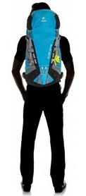 Фото 4 к товару Рюкзак туристический Deuter Guide 40+ л SL turquoise-black