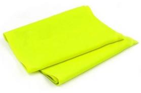 Лента эластичная для пилатеса Pro Supra (р-р 1,5 м x 15 см x 0,3 мм) желтая