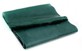 Лента эластичная для пилатеса Pro Supra (р-р 1,5 м x 15 см x 0,3 мм) зеленая