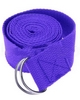 Распродажа*! Ремень для йоги Pro Supra (183 см x 3,8 см) сиреневый - фото 1