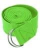 Ремень для йоги Pro Supra (183 см x 3,8 см) салатовый - фото 1
