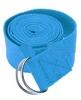 Ремень для йоги Pro Supra (183 см x 3,8 см) голубой - фото 1