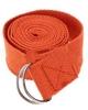 Ремень для йоги Pro Supra (183 см x 3,8 см) оранжевый - фото 1