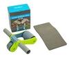 Ролик для пресса с ковриком EVA Pro Supra Abdominal wheel FI-5950-G салатовый - фото 1