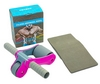 Ролик для пресса с ковриком EVA Pro Supra Abdominal wheel FI-5950-P розовый - фото 1