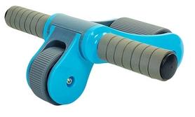 Фото 2 к товару Ролик для пресса с ковриком EVA Pro Supra Abdominal wheel FI-5950-B голубой