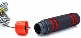 Фото 4 к товару Скакалка скоростная с подшипником и PVC жгутом Pro Supra FI-5103