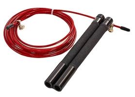 Скакалка профессиональная со стальным тросом скоростная Pro Supra FI-5345 красная