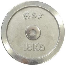Фото 1 к товару Диск хромированный HouseFit 15 кг DB C102-15 - 30 мм