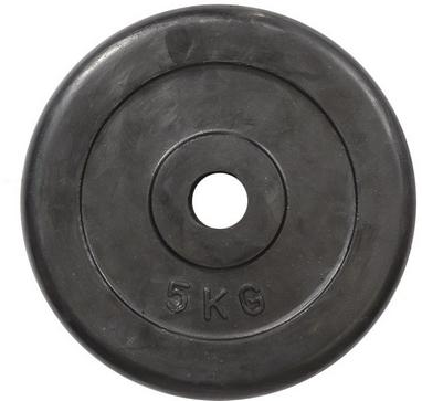 Диск обрезиненный 5 кг R-5 - 30 мм