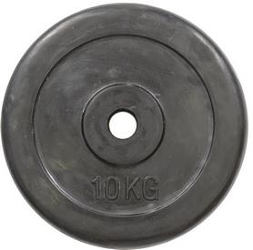 Диск обрезиненный 10 кг R-10 - 30 мм