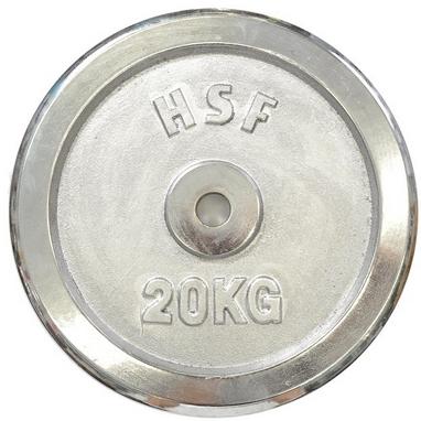 Диск хромированный HouseFit 20 кг DB C102-20 - 30 мм
