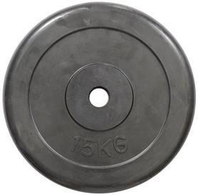 Диск обрезиненный 15 кг R-15 - 30 мм