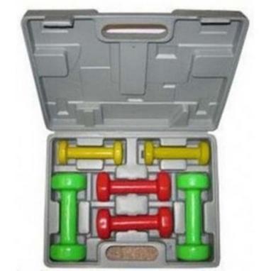 Набор гантелей виниловых 6 кг со стойкой DB 306/1