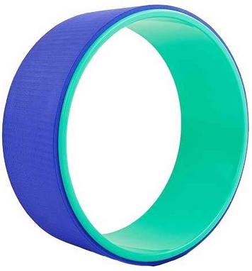 Распродажа*! Колесо-кольцо для йоги Pro Supra FI-5110 Yoga Wheel зеленый-фиолетовый